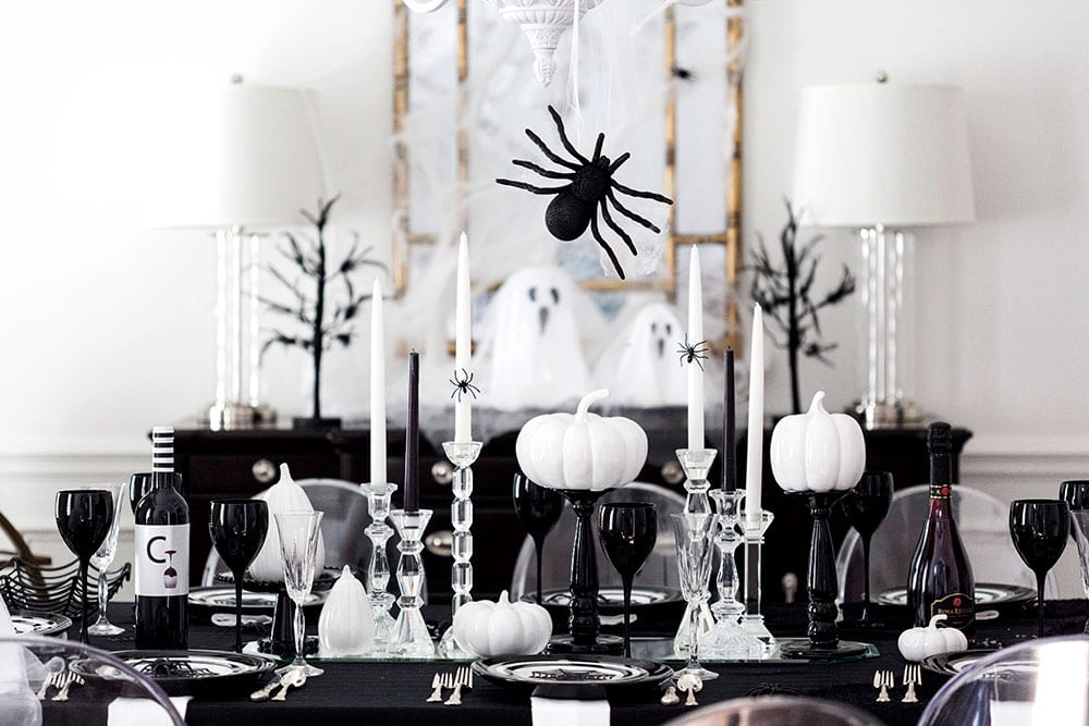 House Dinner Party Ideas Part - 39: Host A Spooktacular Halloween Dinner Party