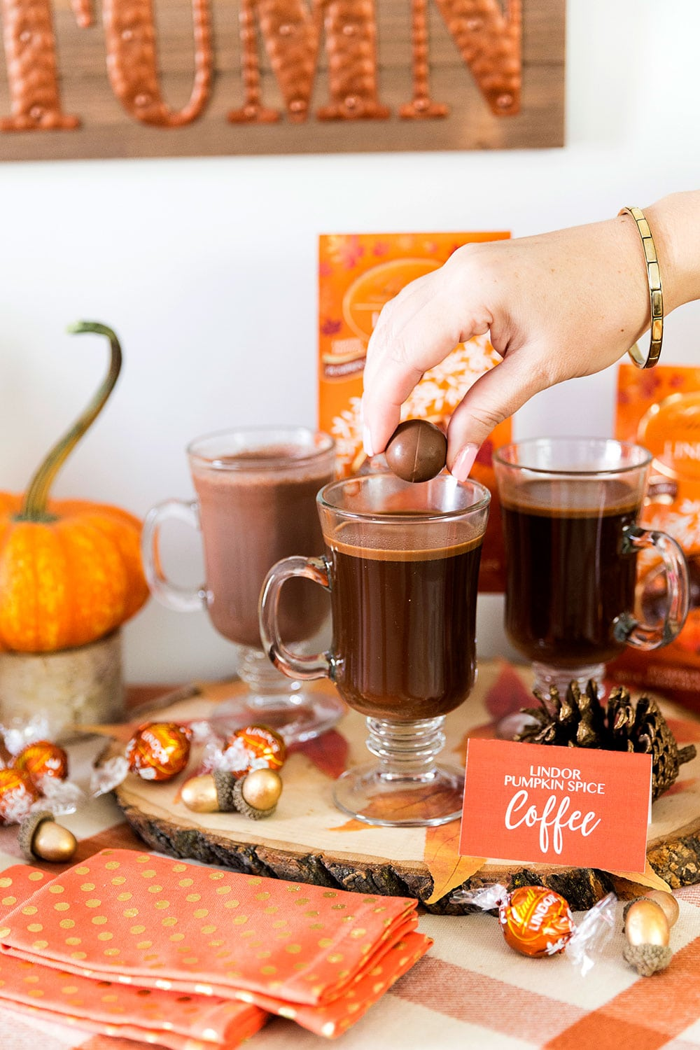 Pumpkin Spice Hot Chocolate & Coffee Bar!