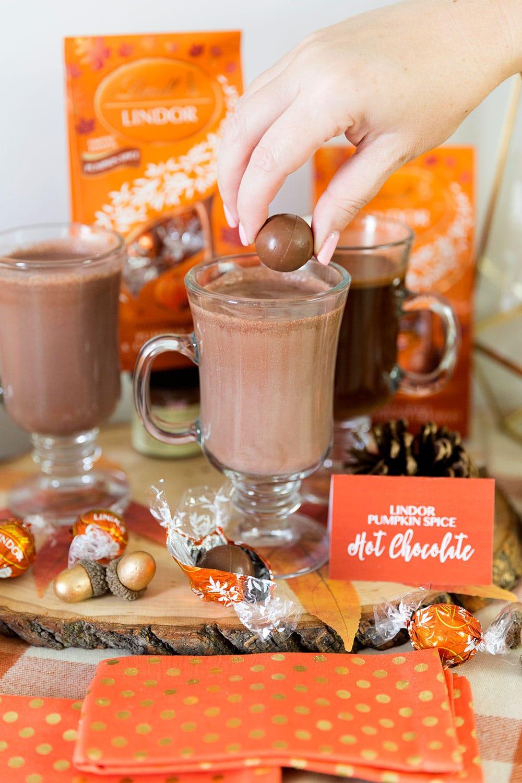 Pumpkin Spice Hot Chocolate & Coffee Bar!