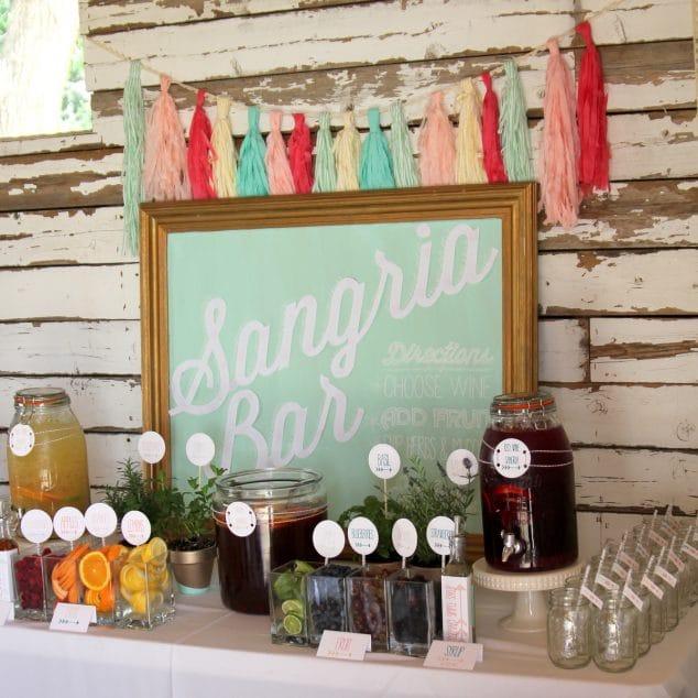 DIY Sangria Bar for your next Party!