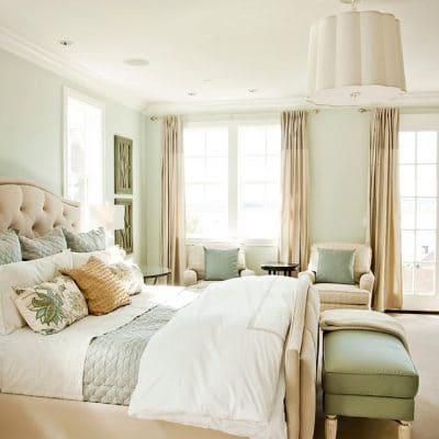 Sherwin Williams Sea Salt Bedroom Inspiration