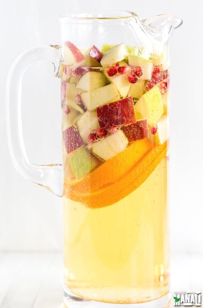 Non Alcoholic Apple Cider Sangria