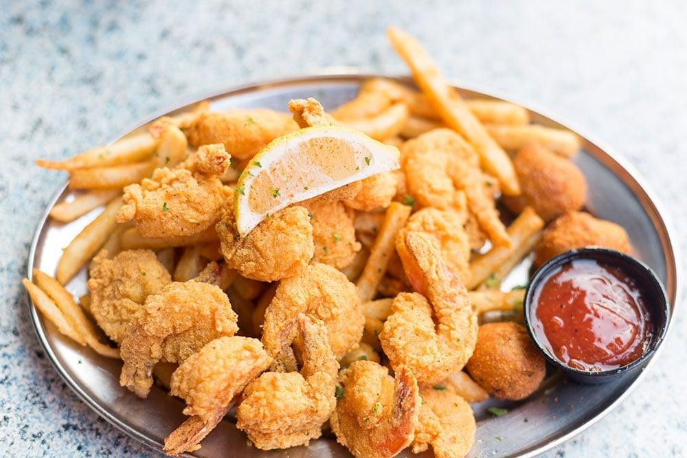 Fried Shrimp in Sandestin FL