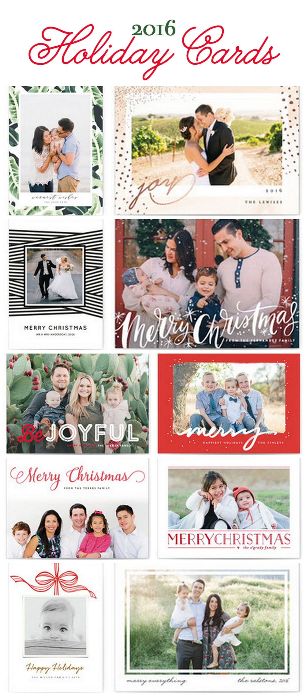 Top Picks for 2016 Holiday and Christmas Cards | Minted Holiday Cards