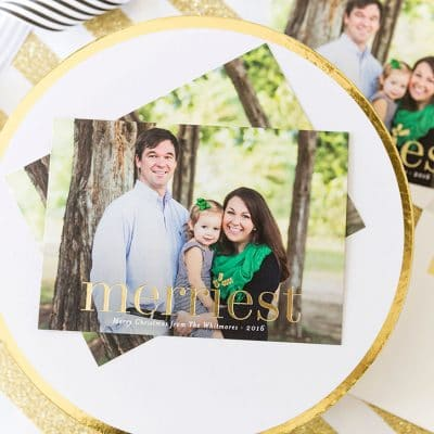 2016 Minted Holiday Cards + $300 Giveaway!
