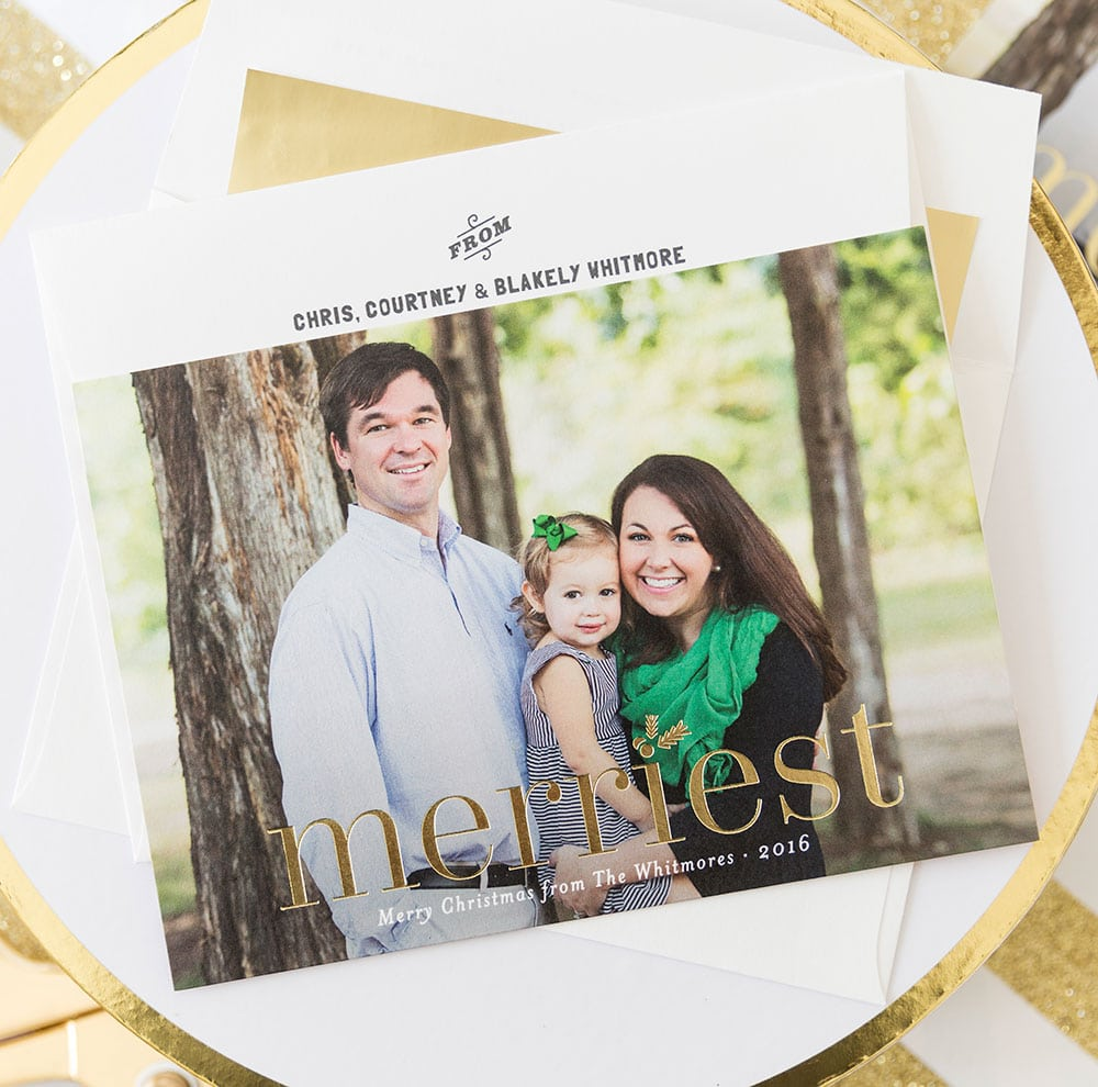 2016 Minted Holiday Cards