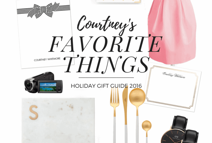 Courtney's Favorite Things: Holiday Gift Guide 2016