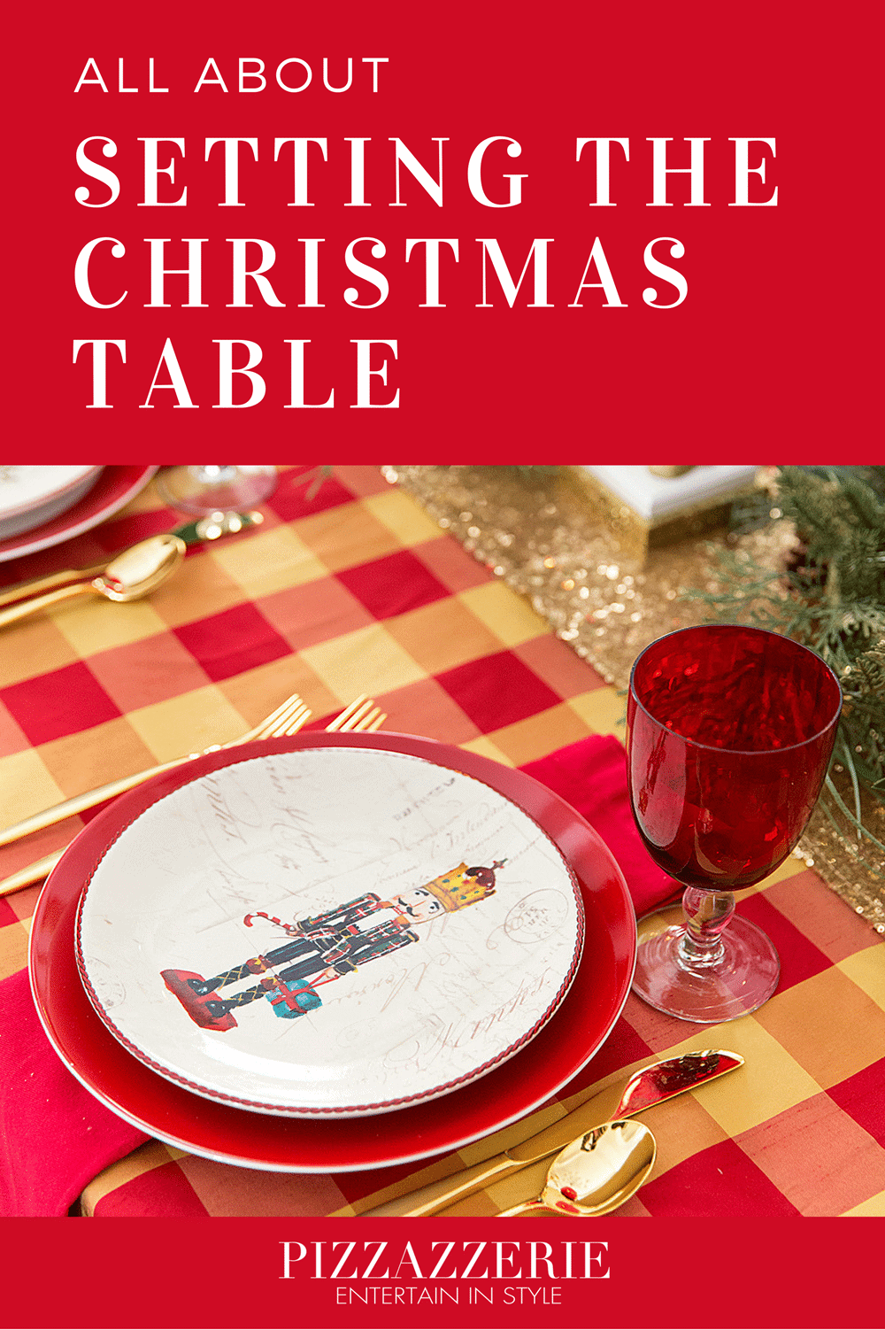 Setting the Christmas Tablescape with Southern Charm!