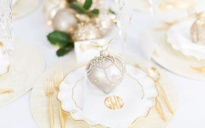 Set Your Holiday Table with Glitz & Glam!