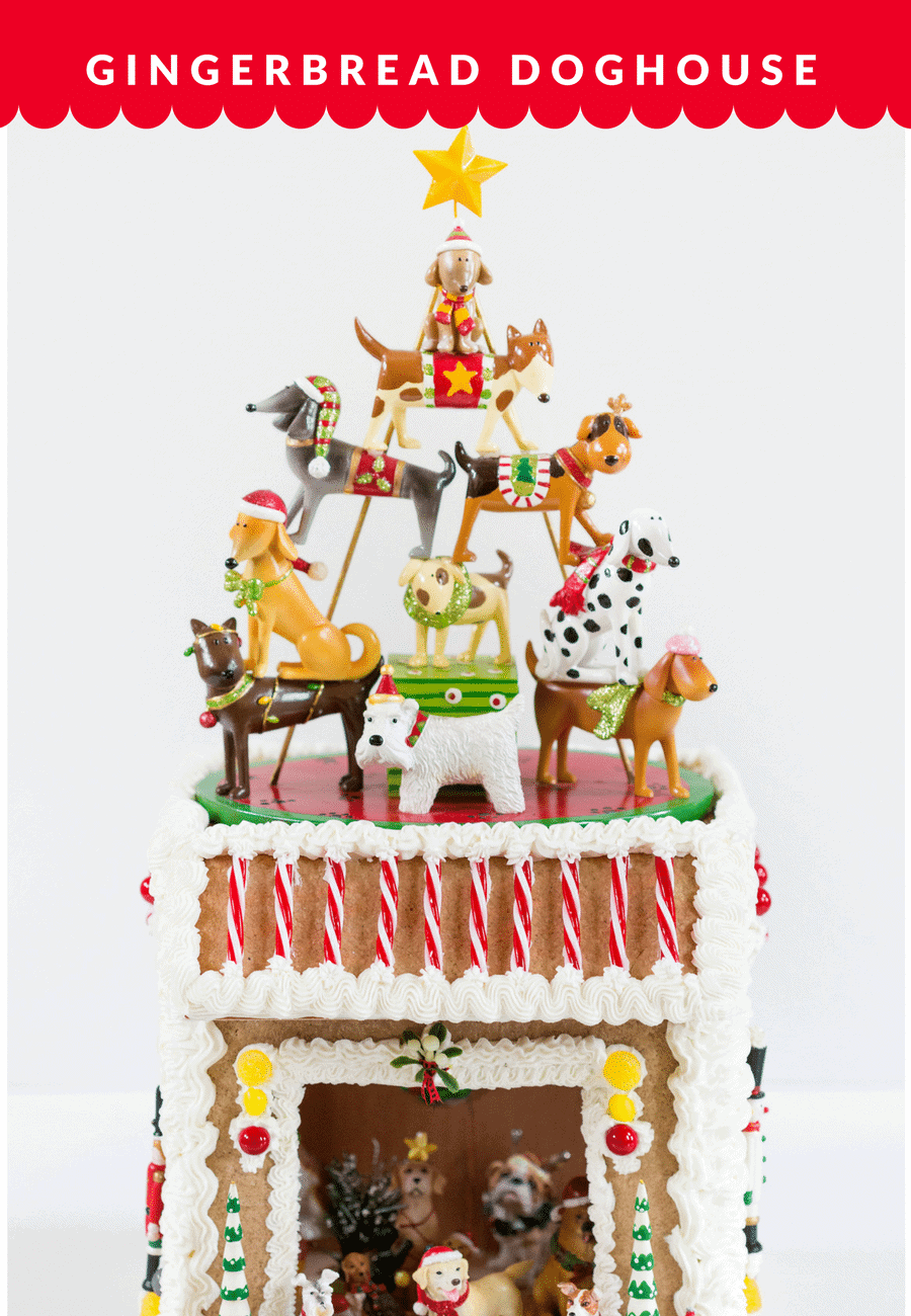 Gingerbread Doghouse Ideas!