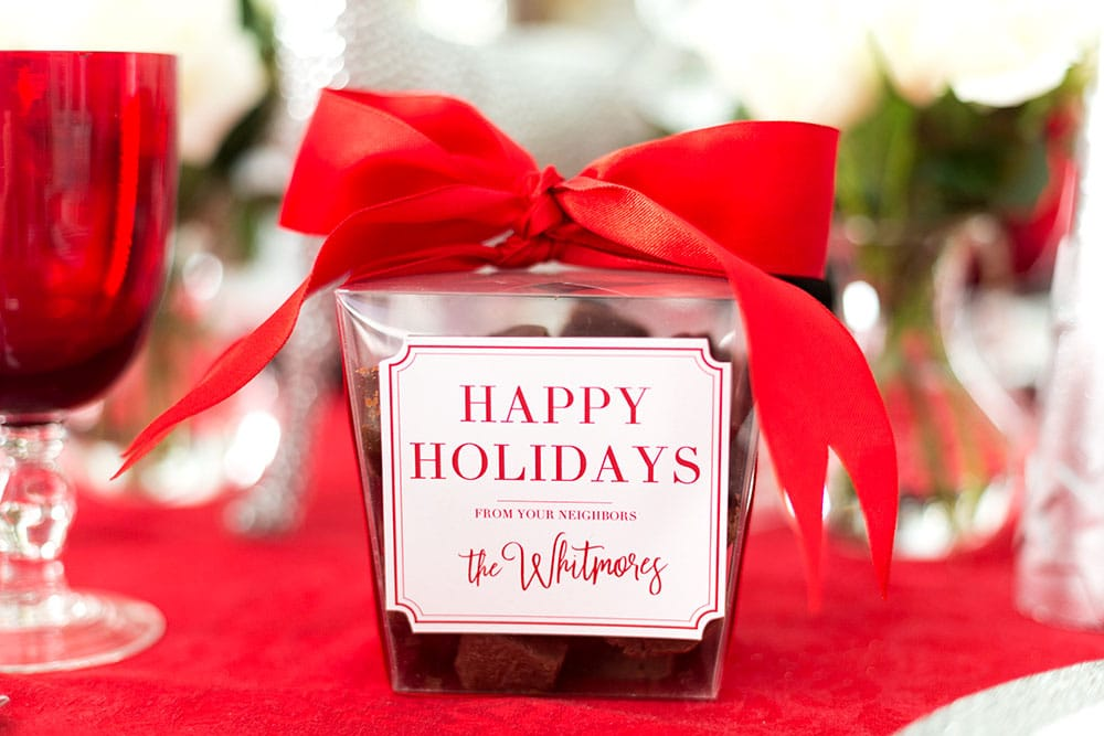 Free Happy Holidays Gift Tag Printables