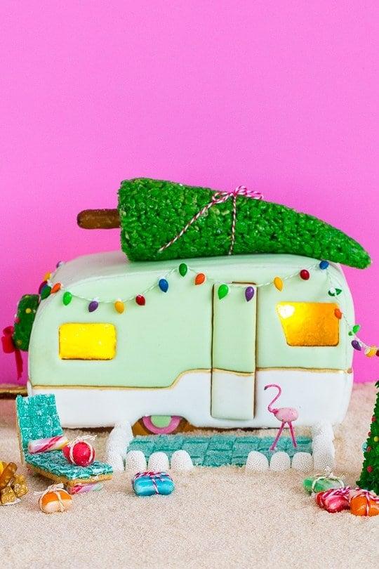 DIY Gingerbread Retro Camper