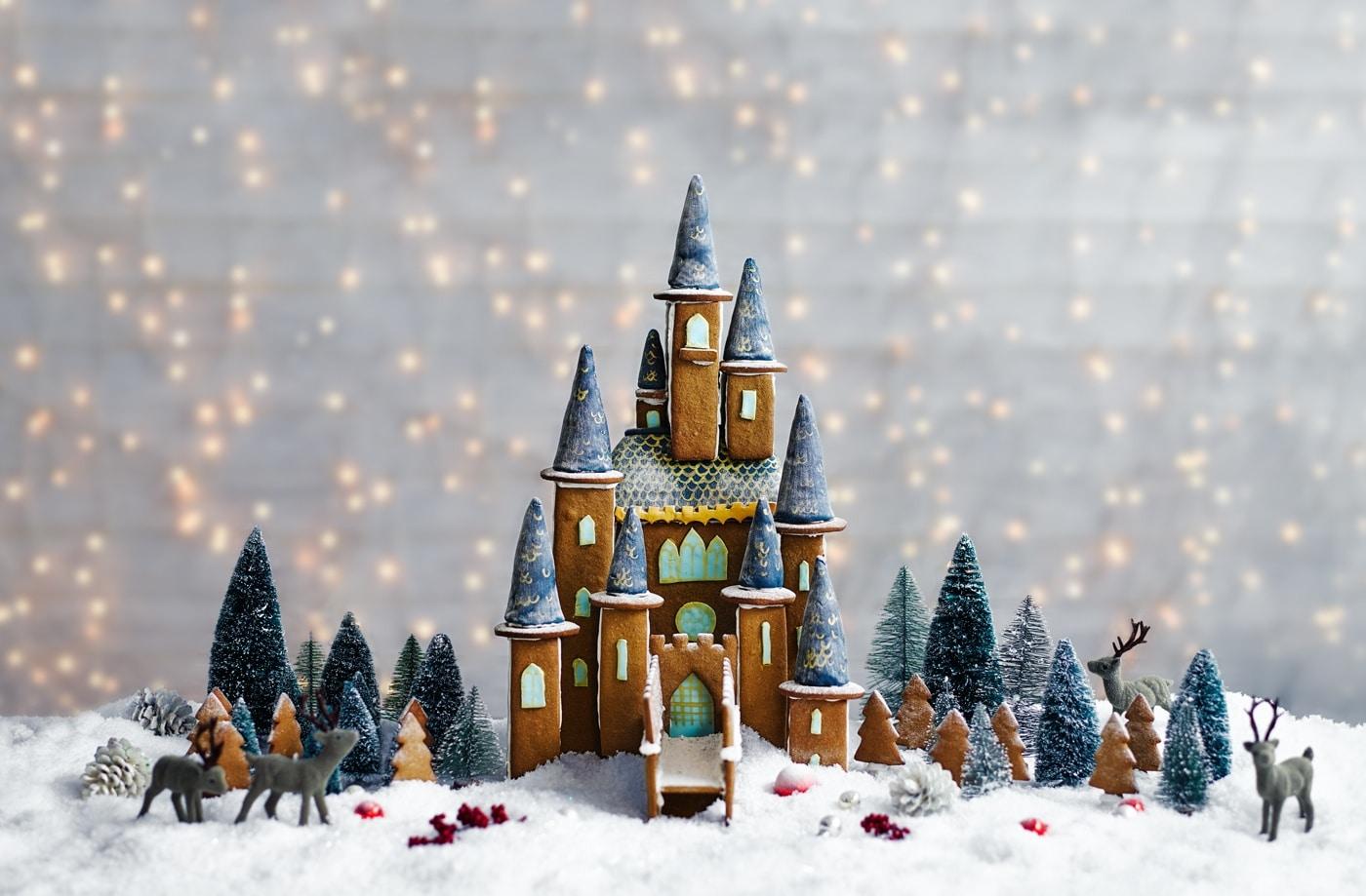 Gingerbread House Castle!