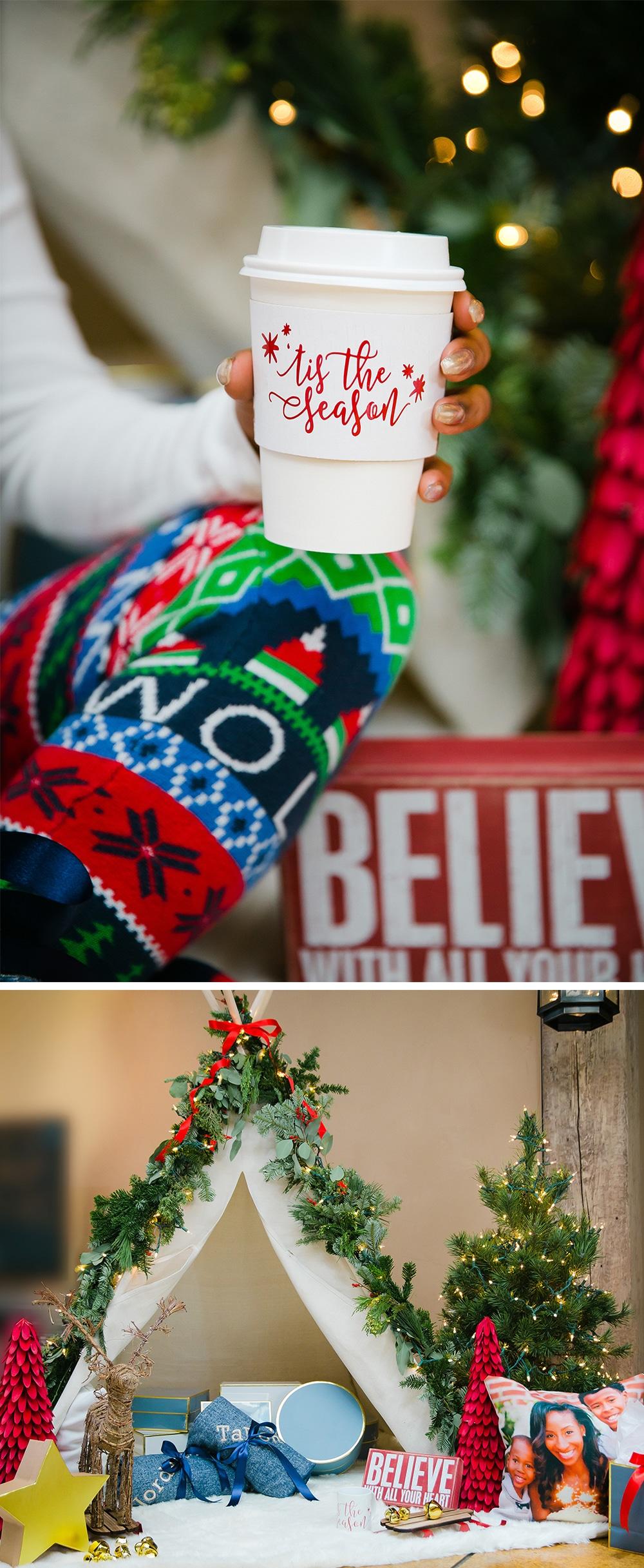 """Classic """"Tis the Season"""" Christmas party!"""