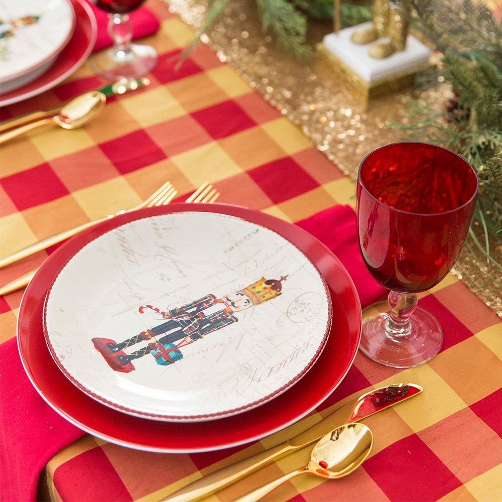 Christmas Party Tablescape, Tips and ideas