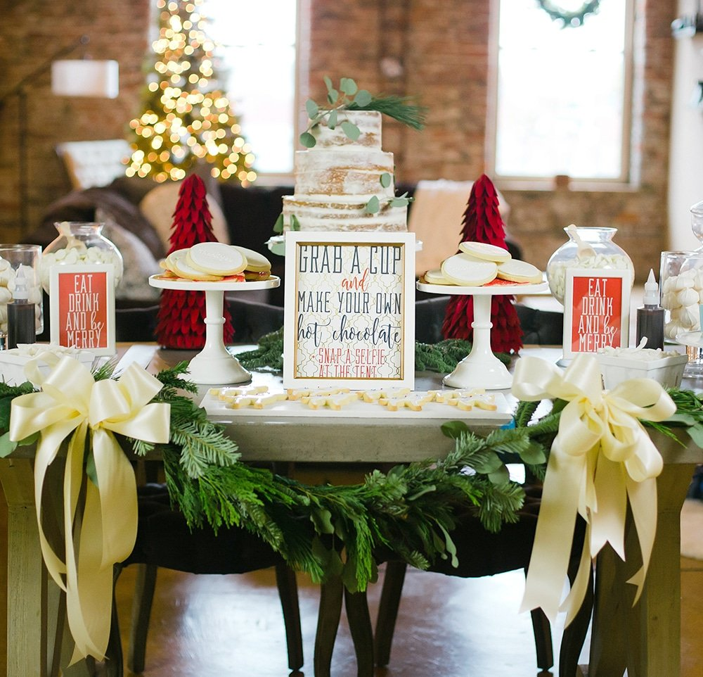 Classic Christmas Party ideas and inspiration!