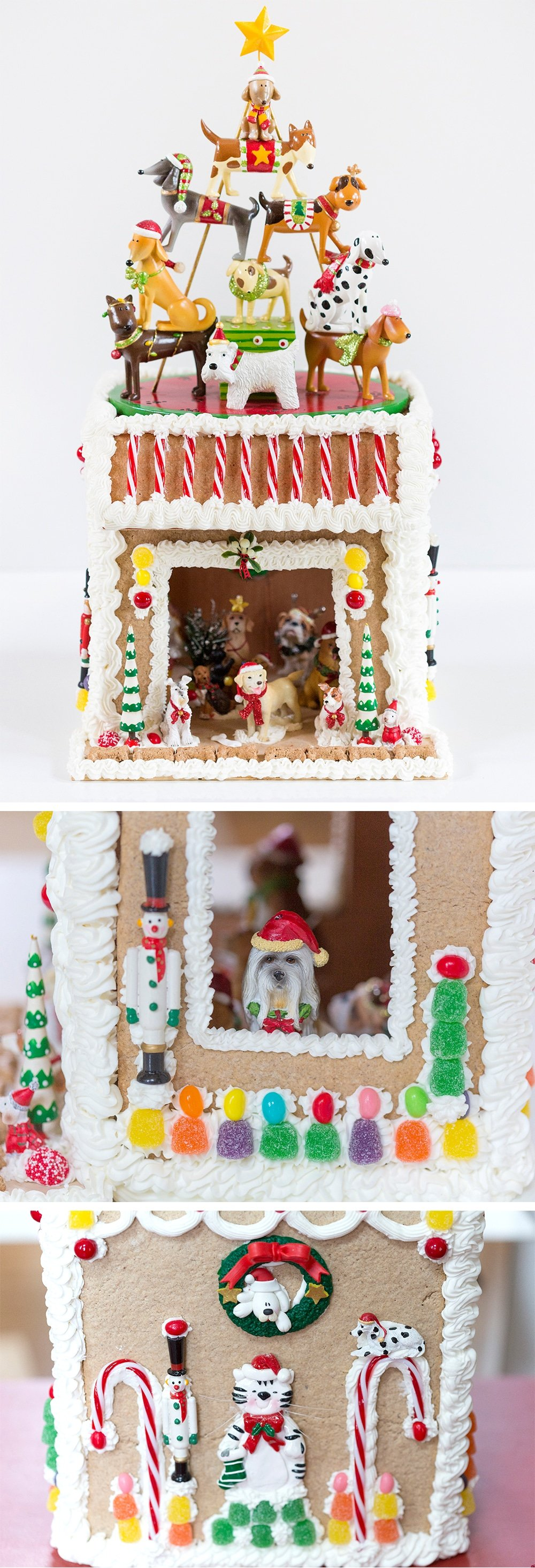 Ultimate Gingerbread DOGHOUSE