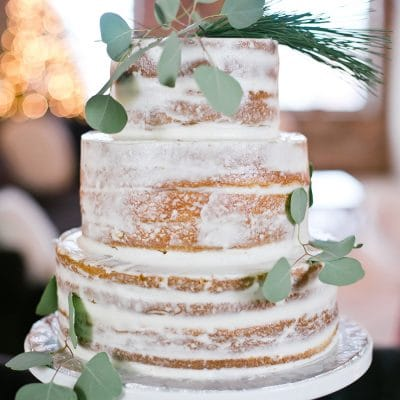 Gorgeous Simple Tiered Cake