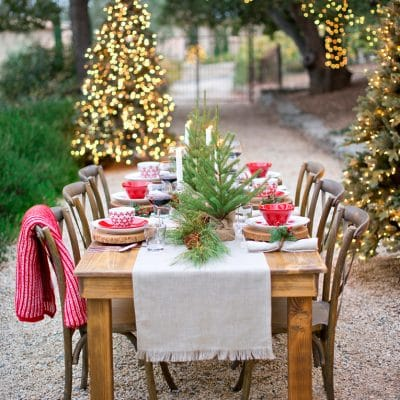 Gorgeous Christmas Holiday Tablescape