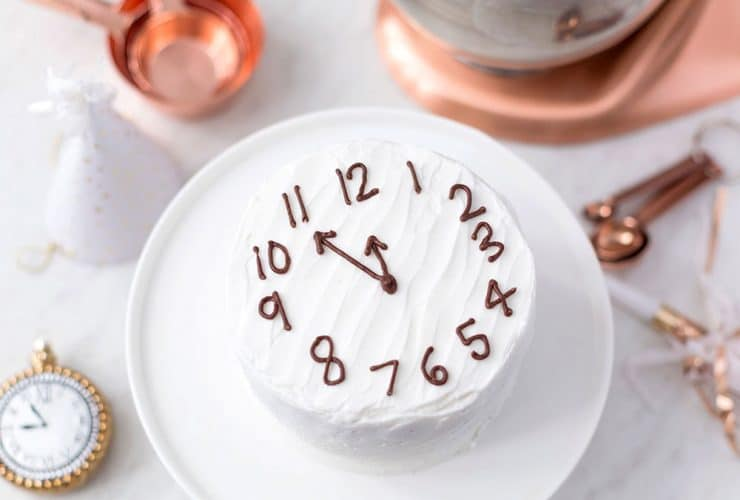 Countdown to Midnight Champagne Cake!
