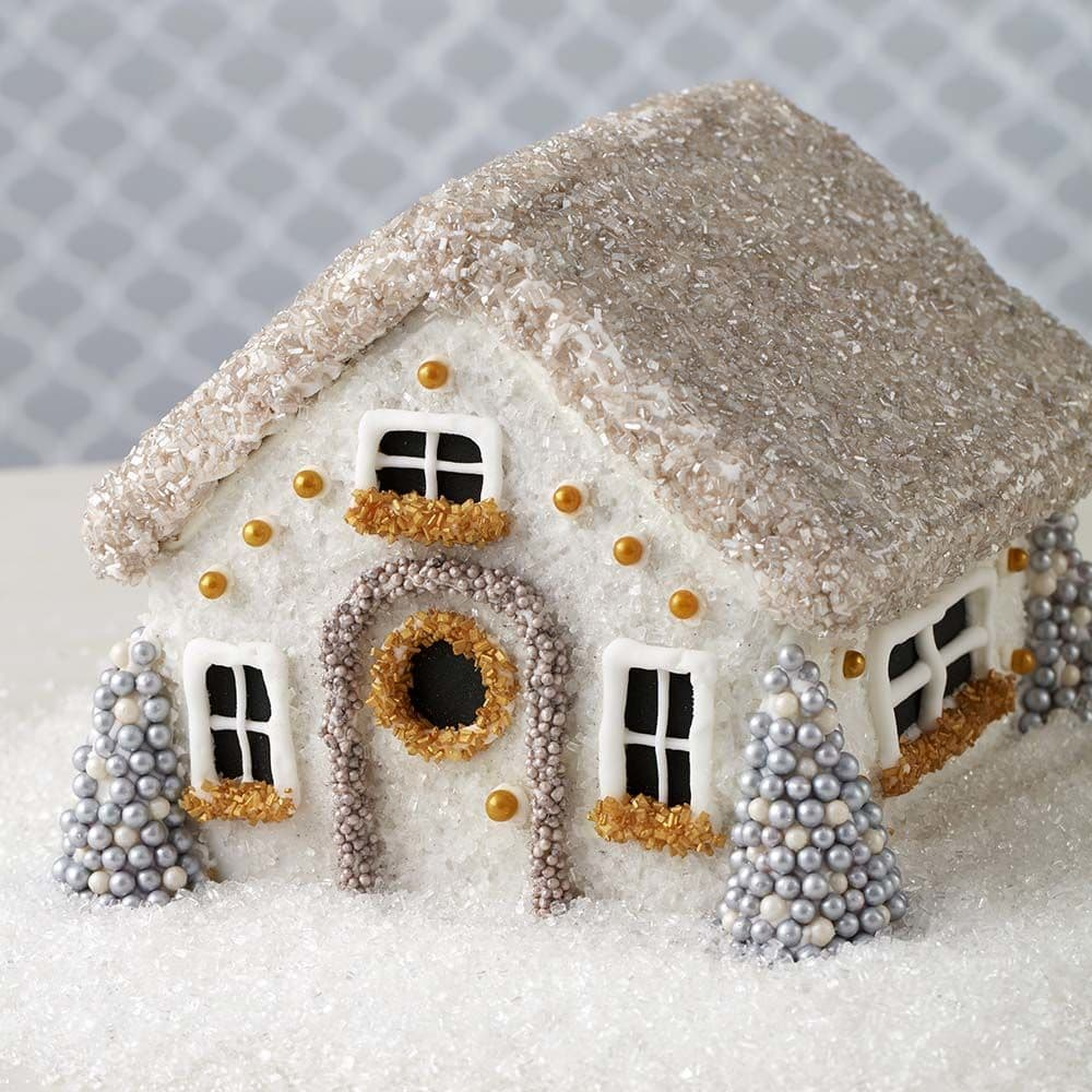 Winter Wonderland Gingerbread House