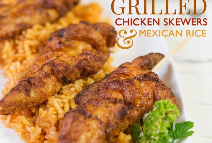 Fire Grilled Chicken Tenders & Mexican Rice