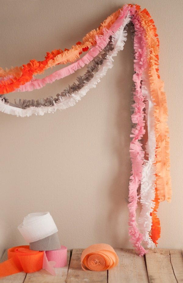 Fringe Garland for Party