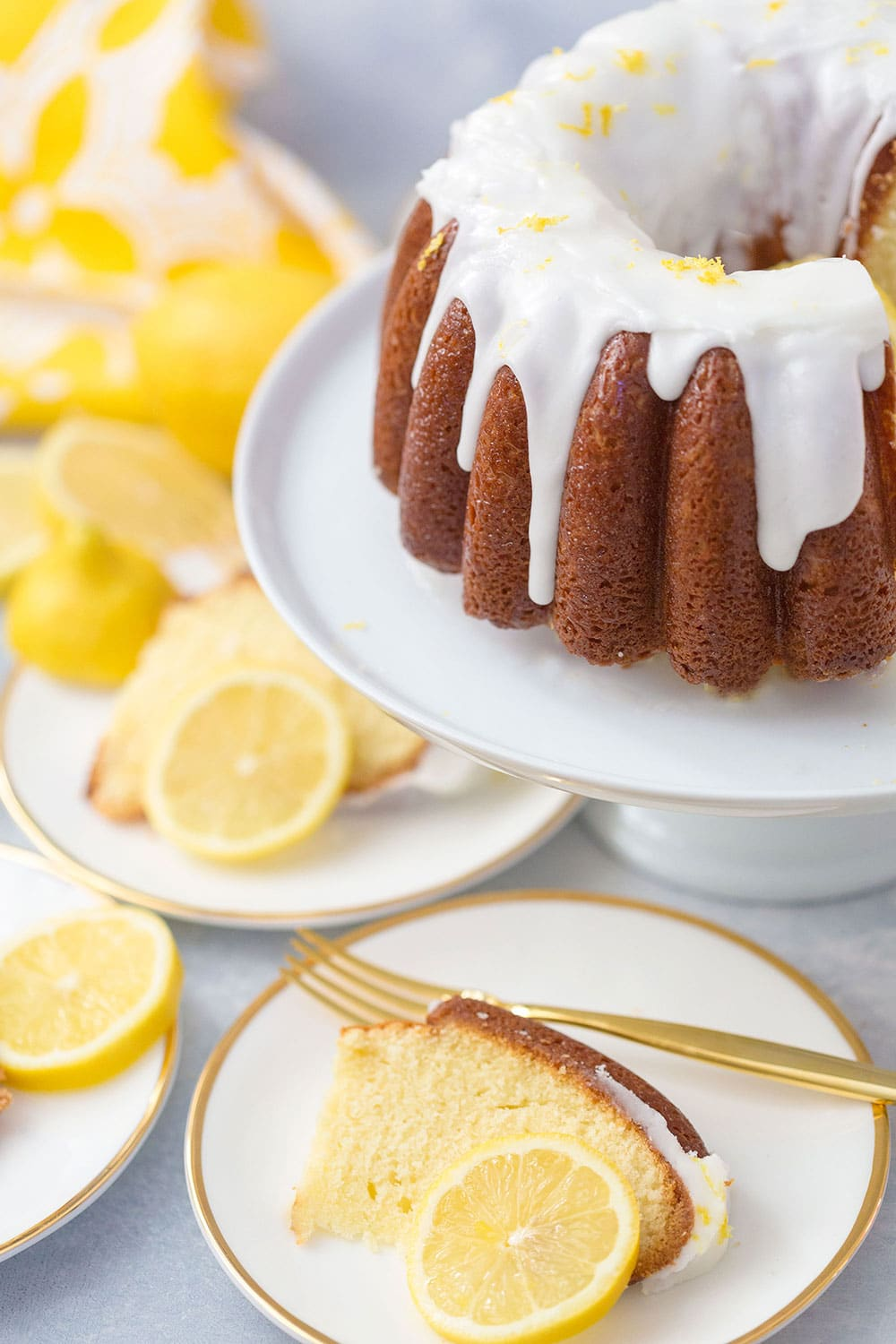 World's Best Lemon Bundt Cake!