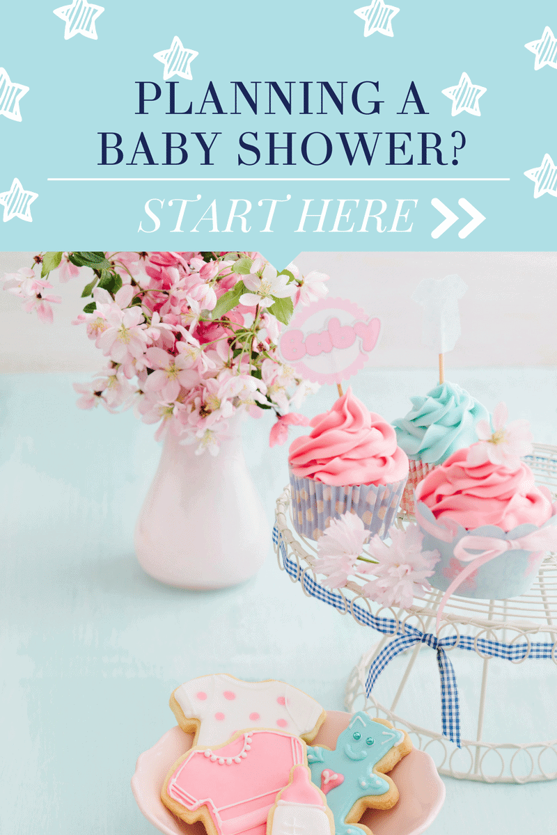 Courtney Whitmore of Pizzazzerie shares tips for planning a baby shower from start to finish!