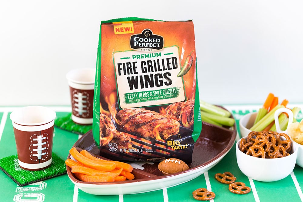 Game Day Wings, Delish Football Foods! #ad