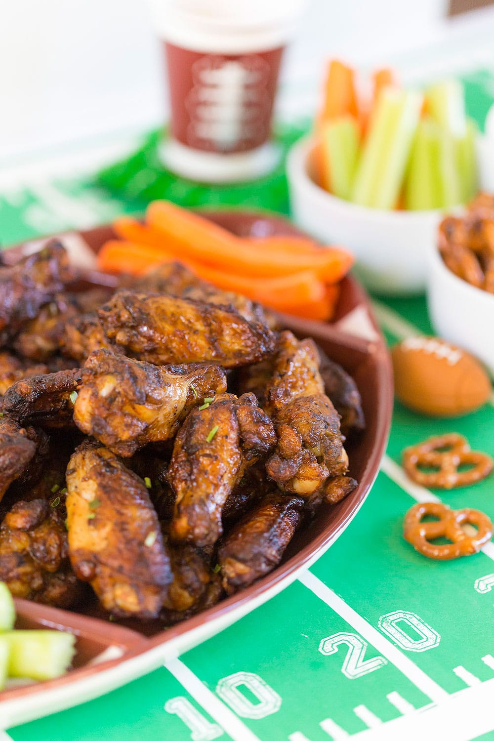 Football Viewing Party Food | Chicken Wings