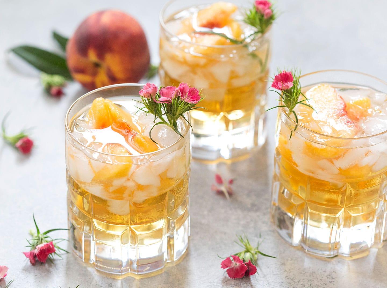 Sweet Georgia Peach Smash Recipe
