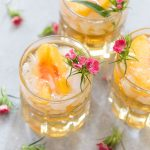Sweet Georgia Peach Smash | Bourbon Cocktail
