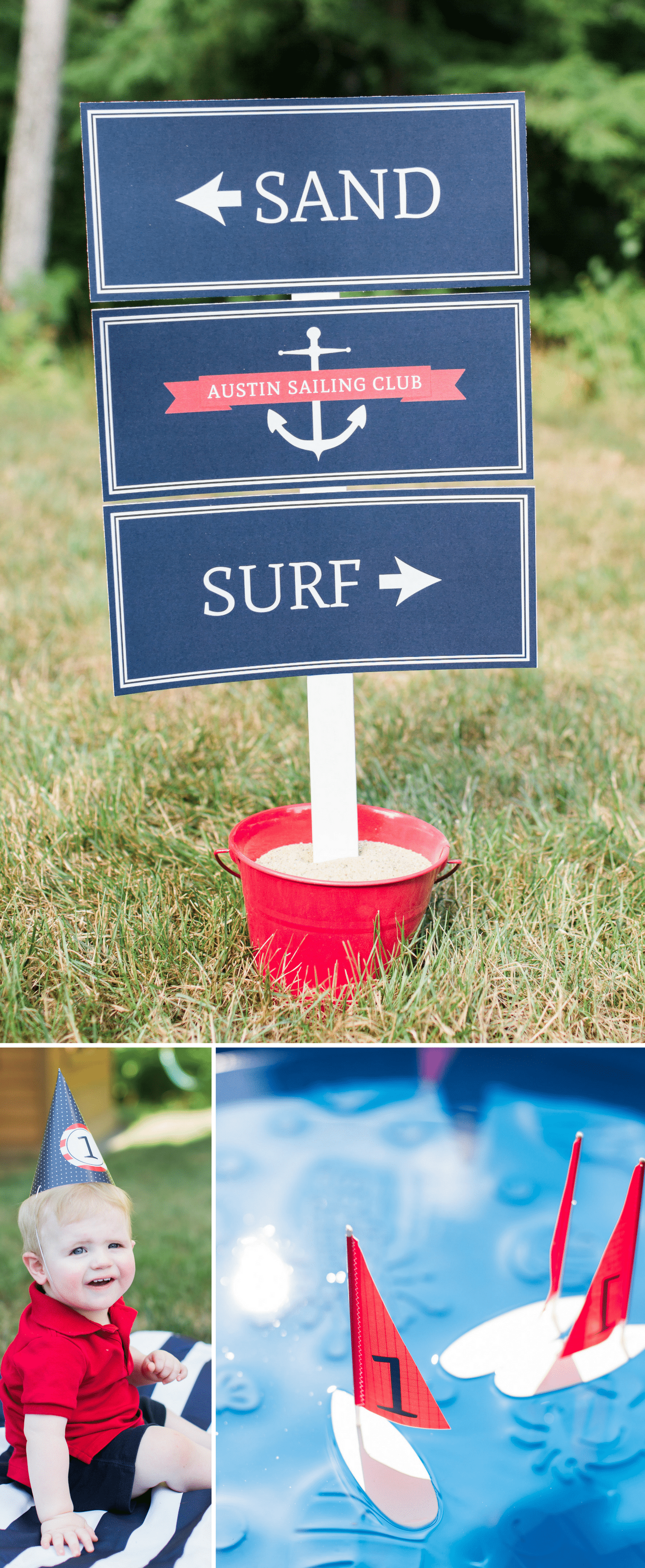 Nautical Birthday Party Details
