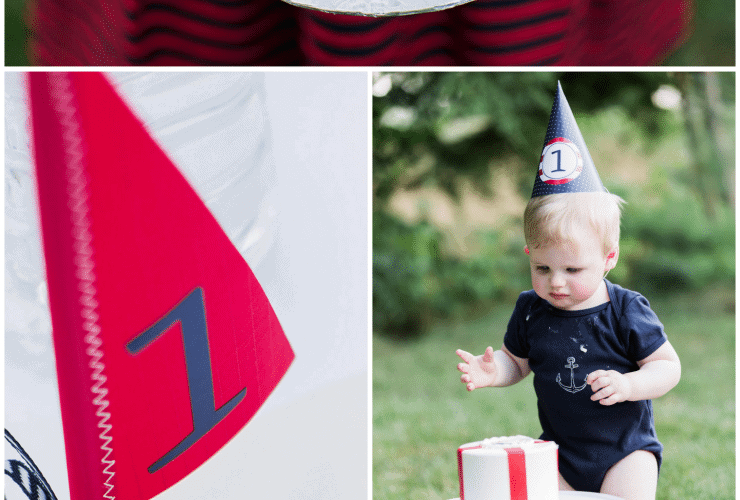 The Cutest Nautical Birthday Party!