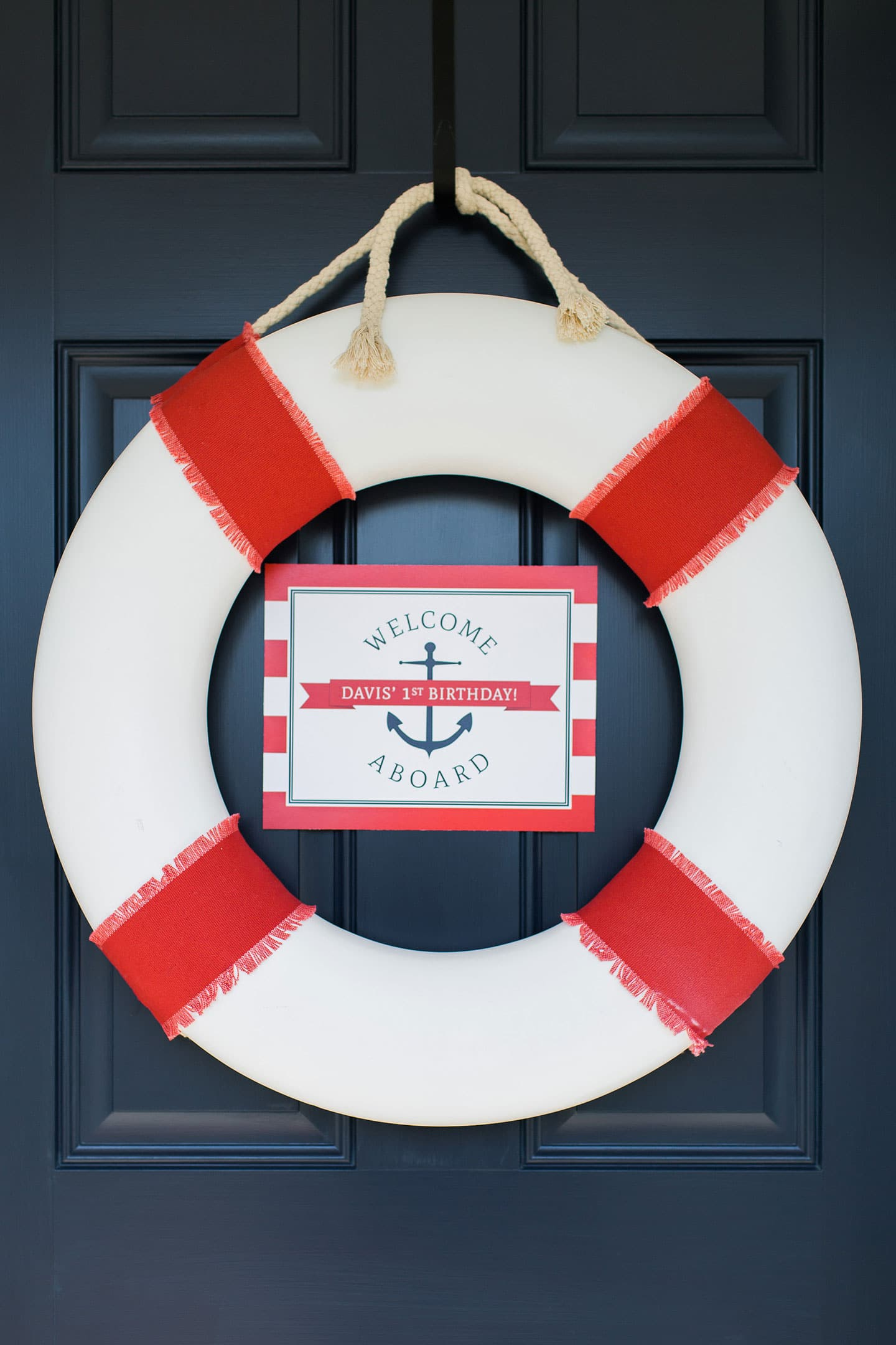 Nautical Birthday Party, Cute 1st Birthday Party for a Boy!