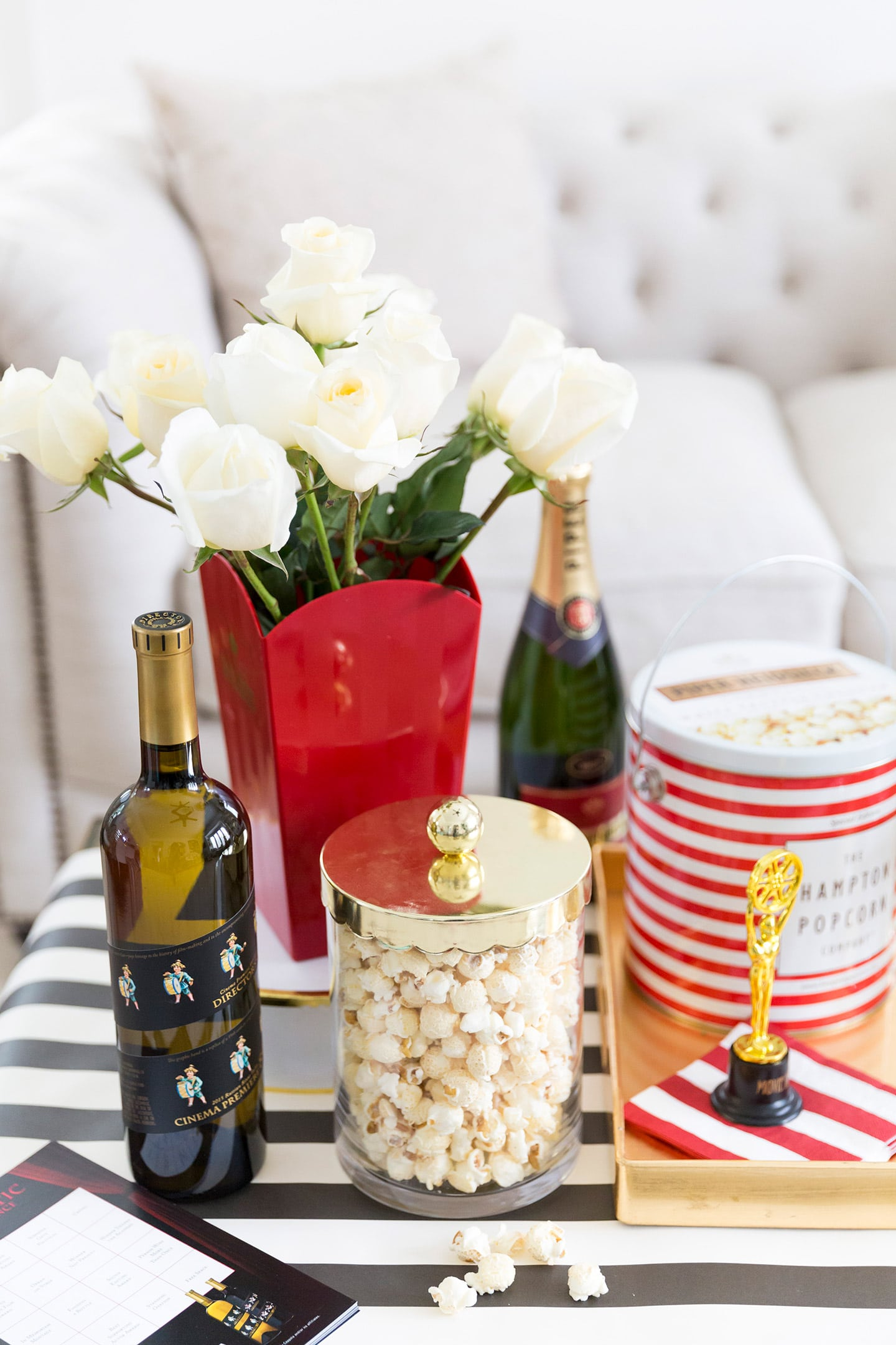 Host your own oscars viewing party pizzazzerie for Hosting a party at home