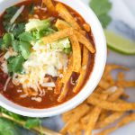 Party-Ready Crock Pot Chicken Tortilla Soup, super easy and delish!