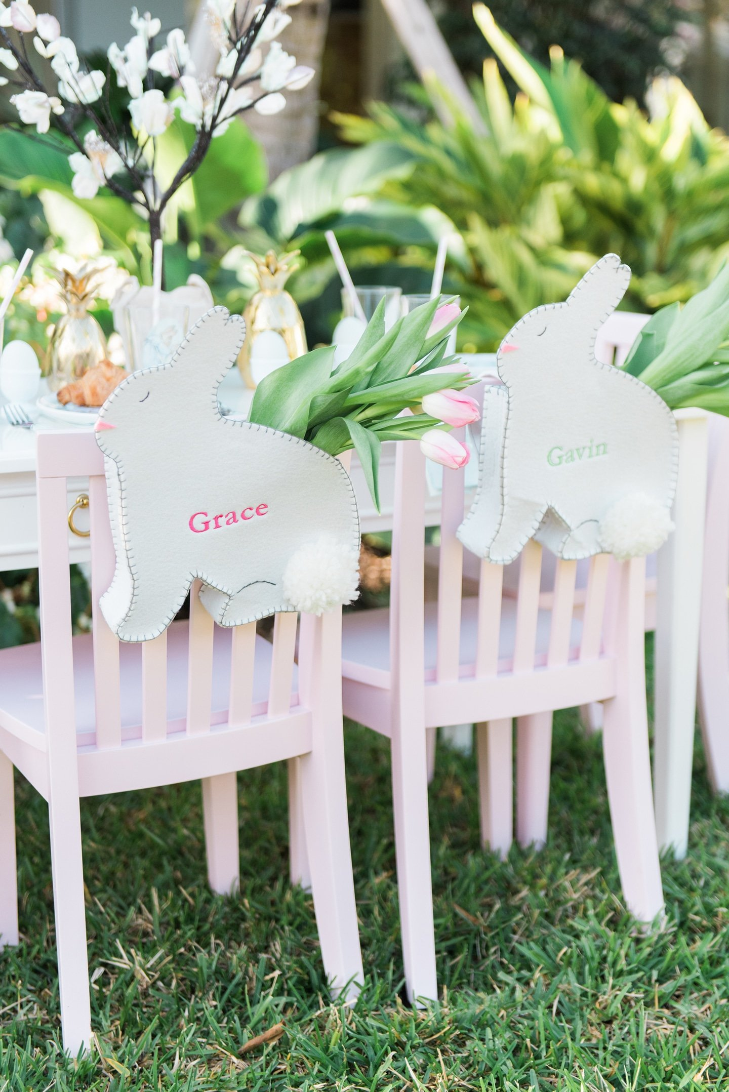 Sweet Easter Kids Table Inspiration