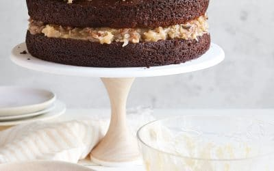 German Chocolate Cake from Add a Pinch Cookbook