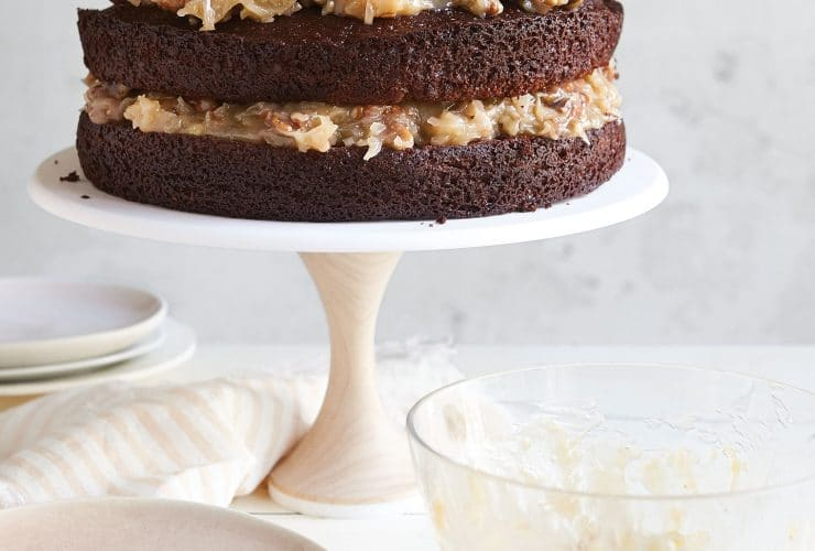 German Chocolate Cake from the Add A Pinch Cookbook!