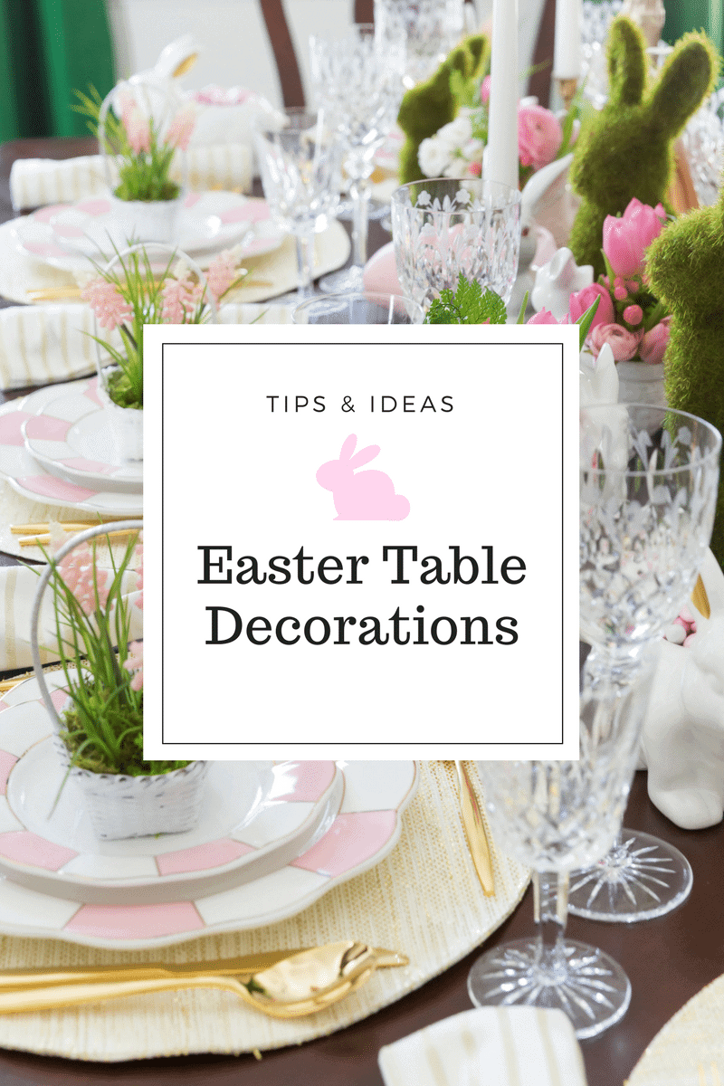 Easter Table Decorations U0026 Place Setting Ideas!