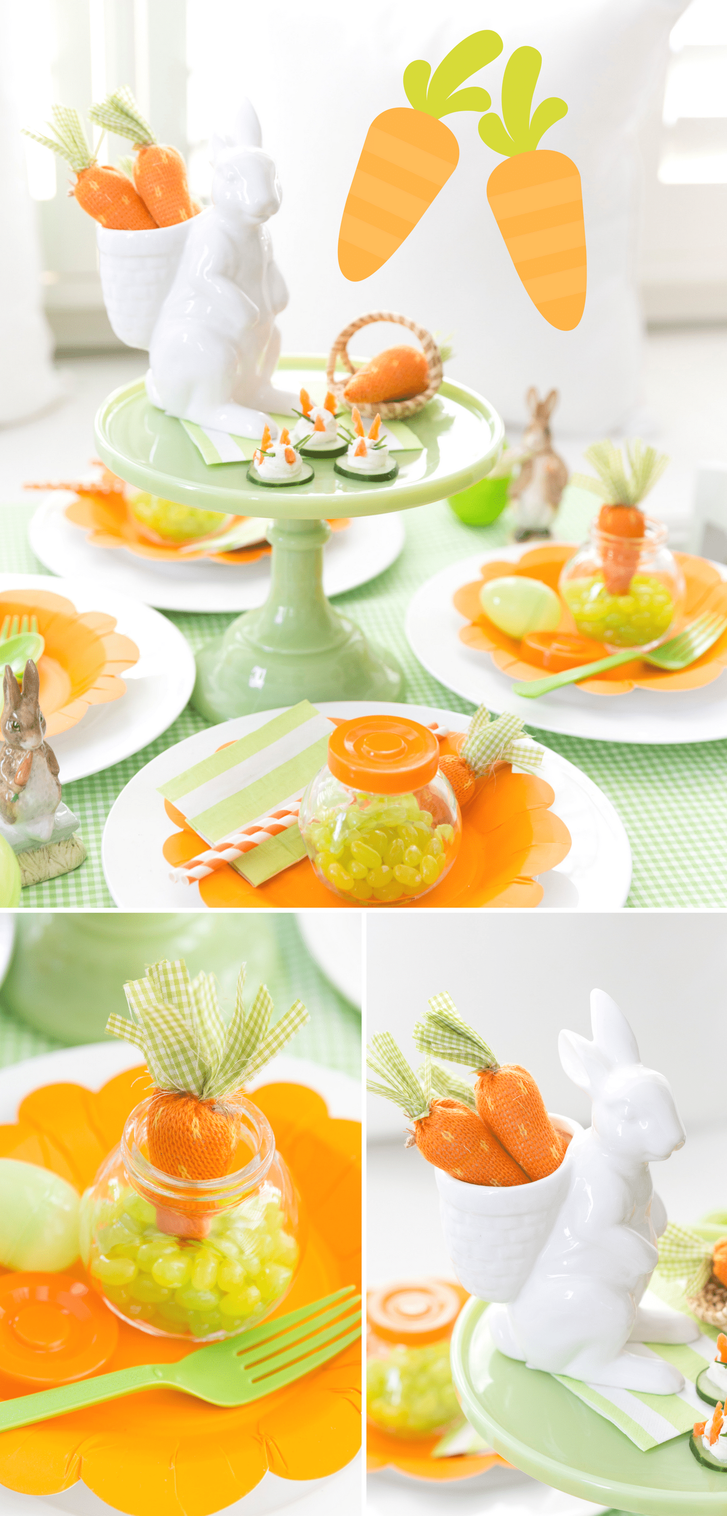 Adorable Easter Kids Table!