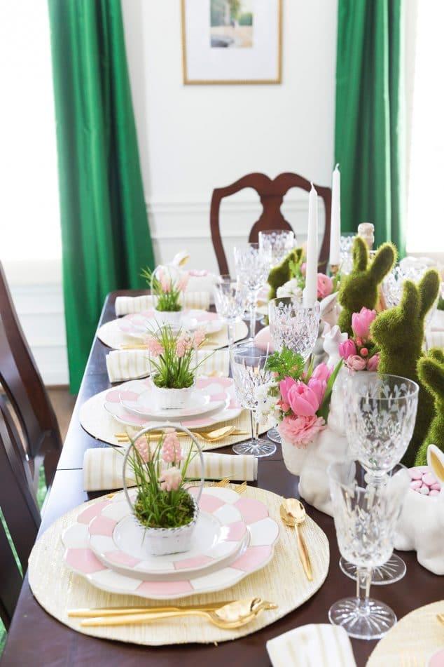Set a gorgeous Easter Tablescape