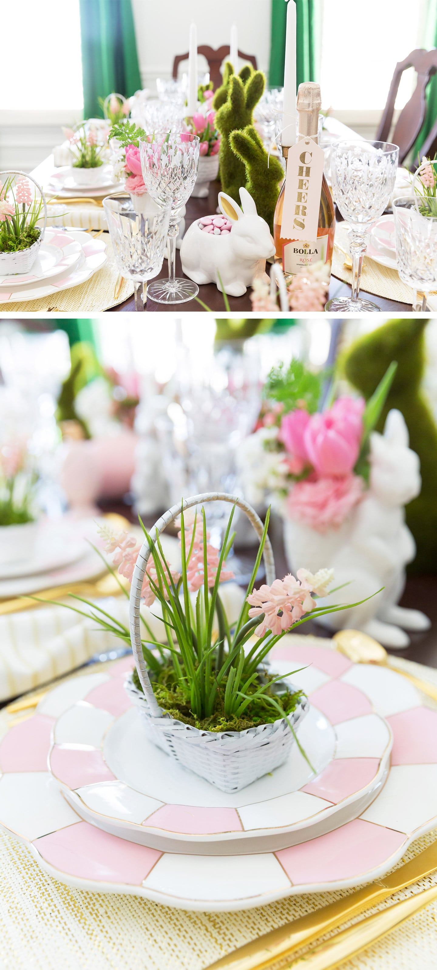 Style an Easter Tablescape