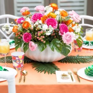 Tips for a Tropical Soiree Tablescape!