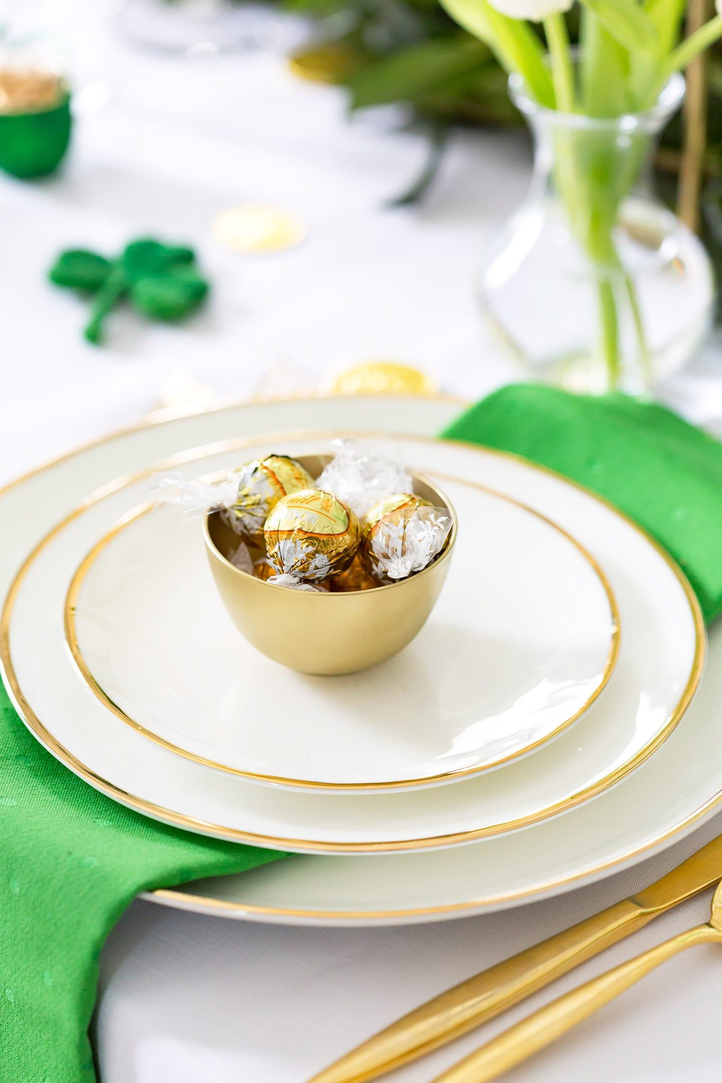 St. Patrick's Day Tablescape