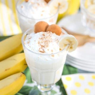 southern banana pudding martini