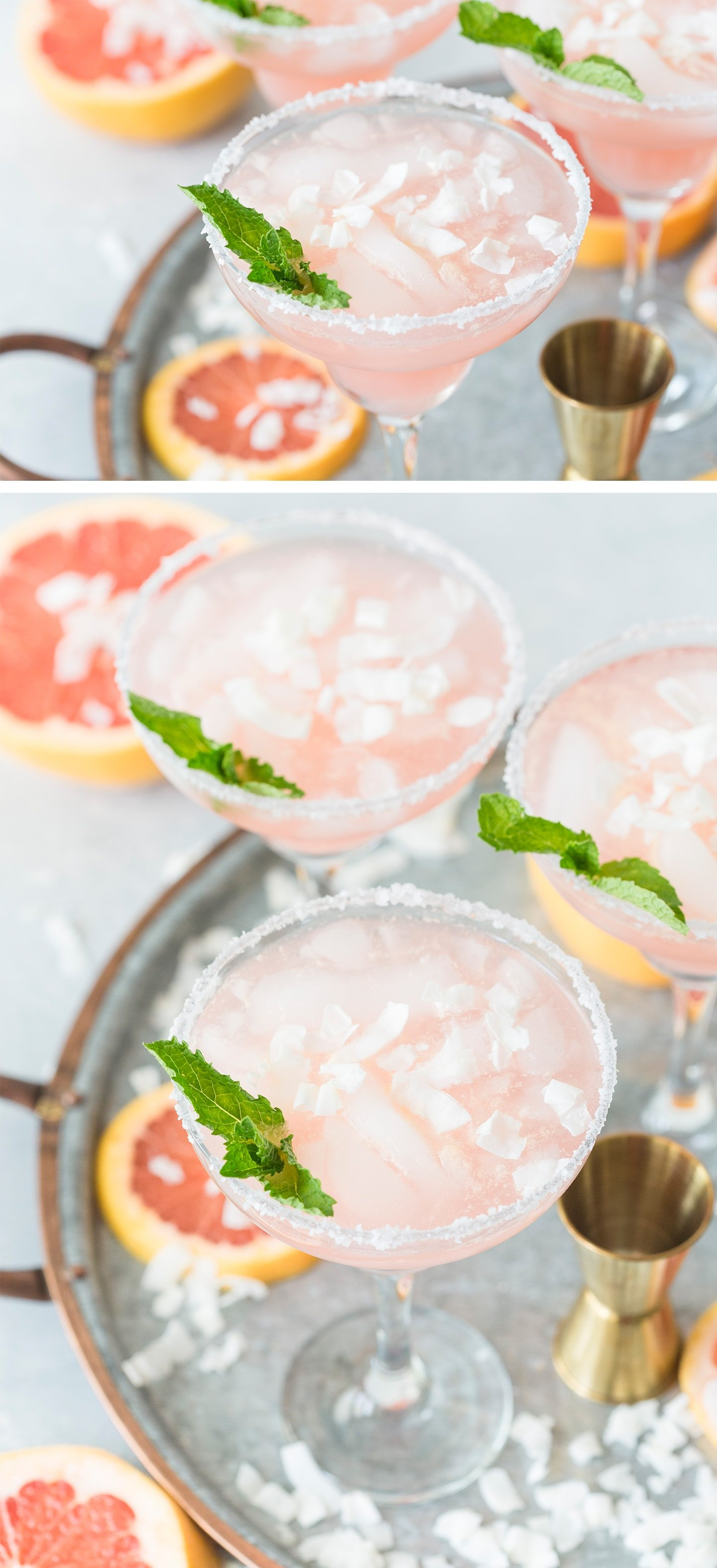 Coconut Grapefruit Margaritas Recipe