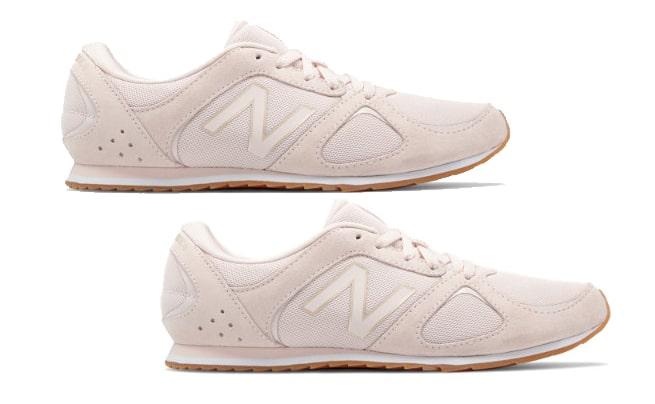 Blush Pink New Balance Shoes